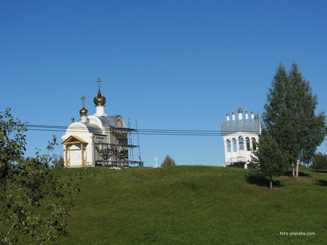 Дудачкино, храм-часовня Николая Чудотворца