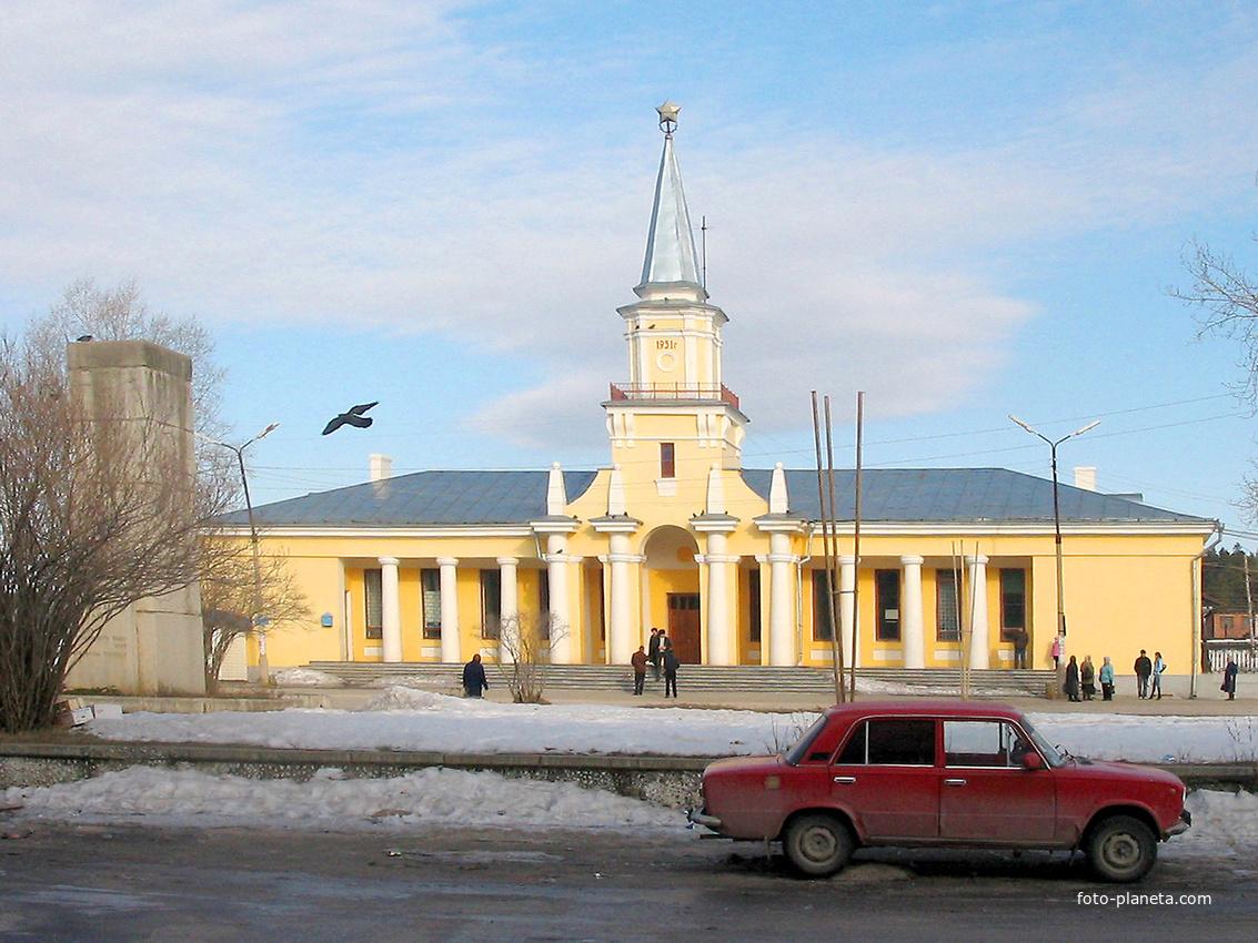 Североуральск. Вокзал. 2006 г