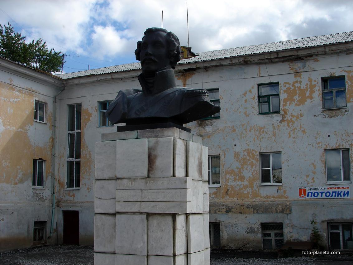 Ишим. Памятник Одоевскому А.И. 2011 г