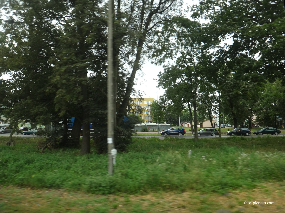 Вид на улицу Партизанов