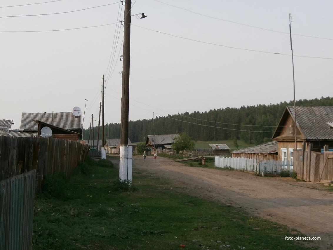 Улица Дутинская - единственная в деревне Дута