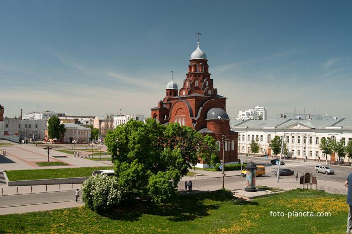 Новопостроенная Троицкая церковь