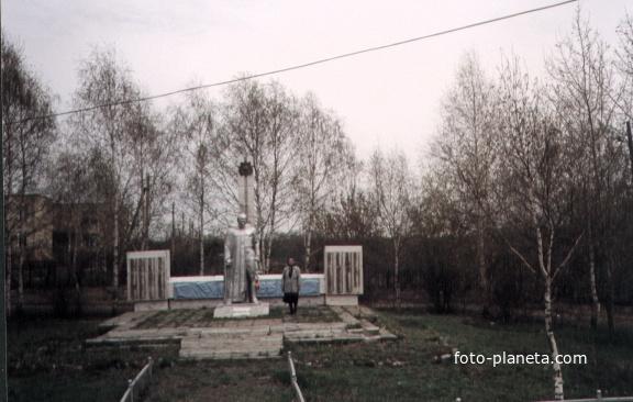Салтыково. Памятник войнам 1941-1945 г.