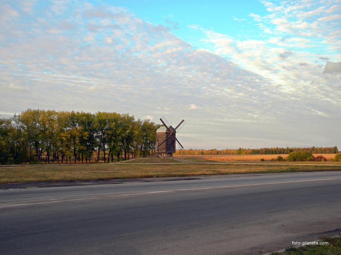Мельница в поселке Яковлево