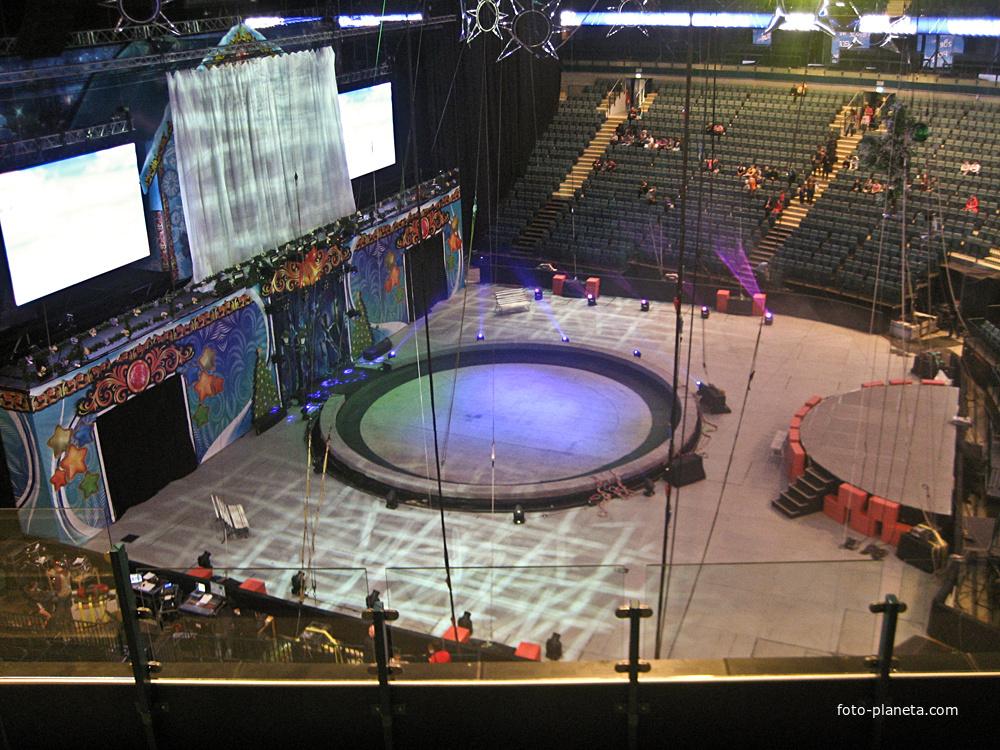 Цирк в Ледовом дворце