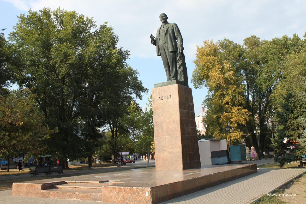 Бердянск. Памятник Ленину.