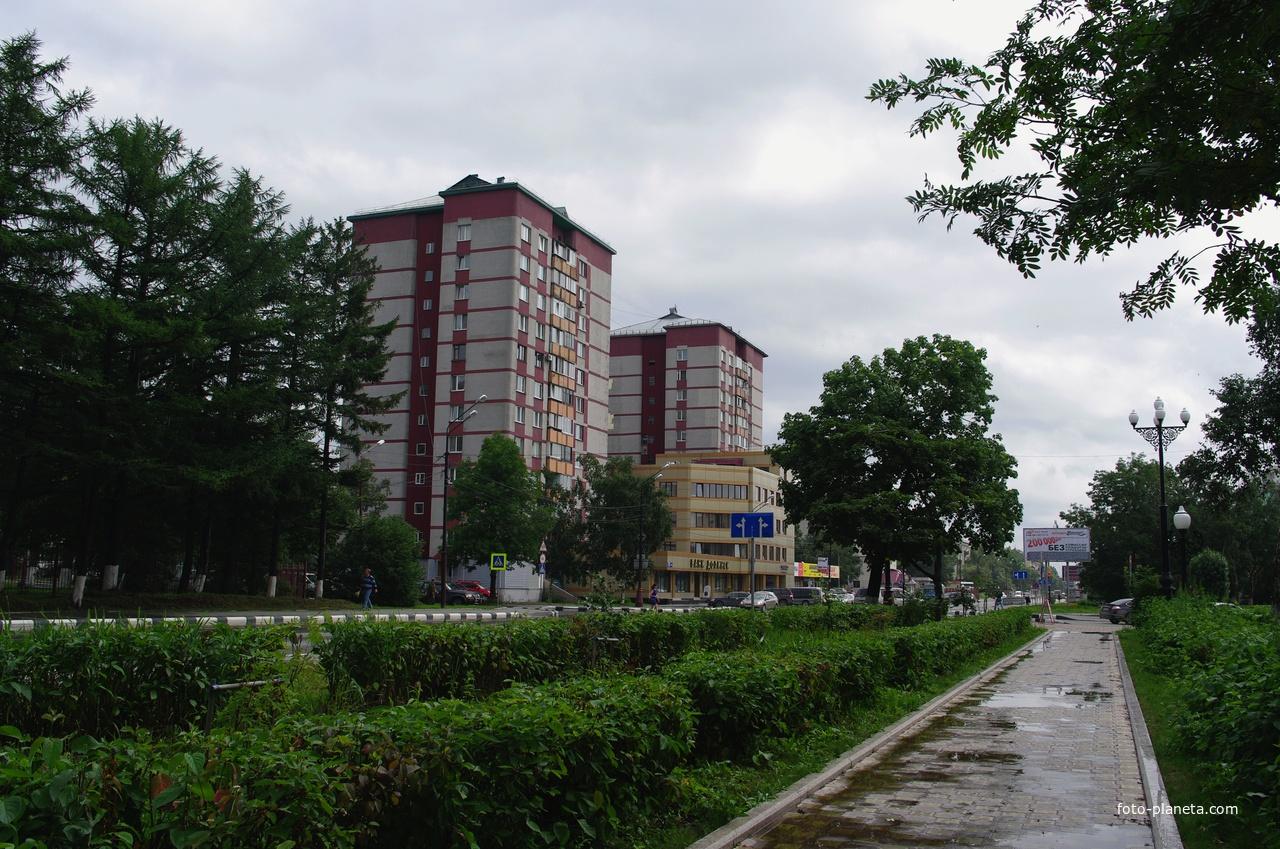 Фото проспекта мира город южно сахалинск