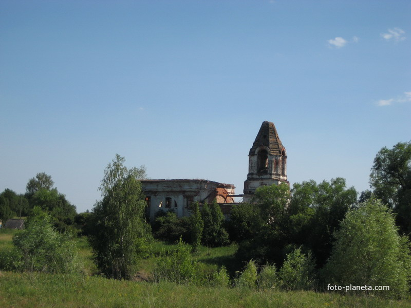 """Сыресево. Церковь иконы Божией Матери """"Всех скорбящих Радость"""""""