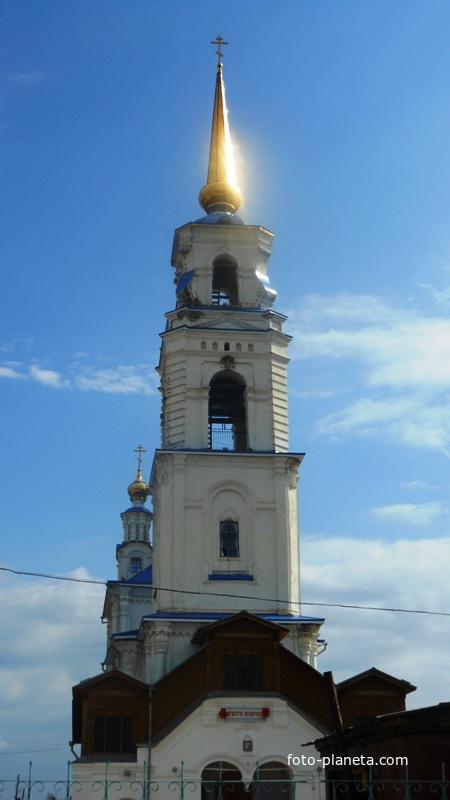 Колокольня Петропавловского храма