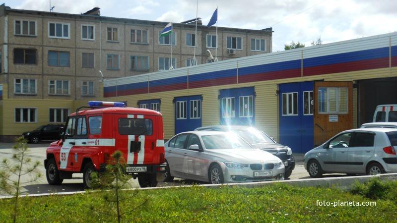 Пожарка на Шахтёрской