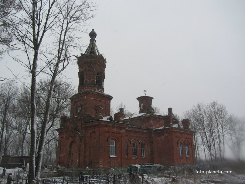 Лукинское. Церковь Успения Пресвятой Богородицы