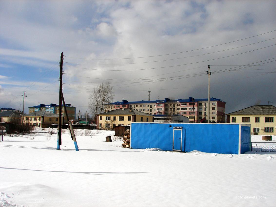 Пелым. У вокзала. 2014 г