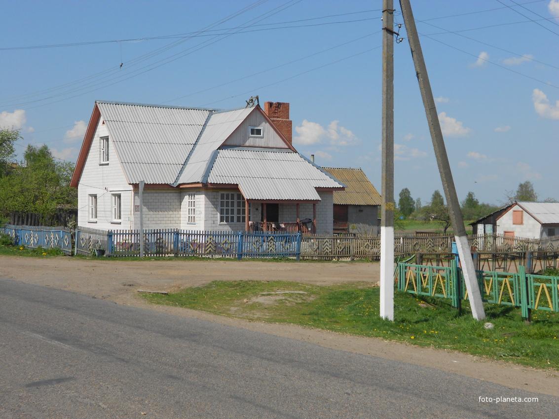 ул. ленина и поворот на ул. Центральная