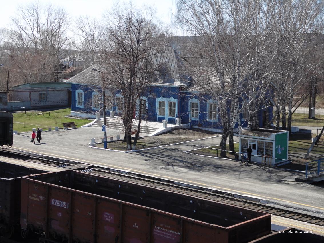 Туринск. Вокзал. Май 2014 г.