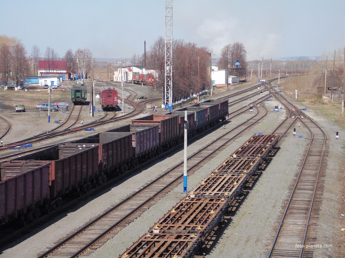 Туринск. Депо. Май 2014 г.