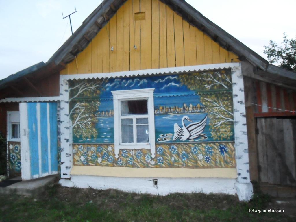 дом в деревне Ског