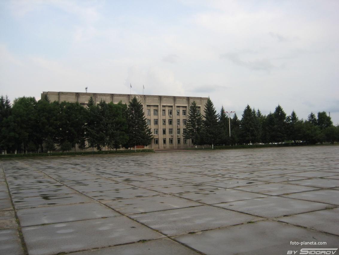 Здание правительства Еврейской Автономной Области