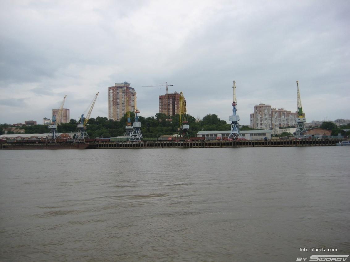 Хабаровский речной порт