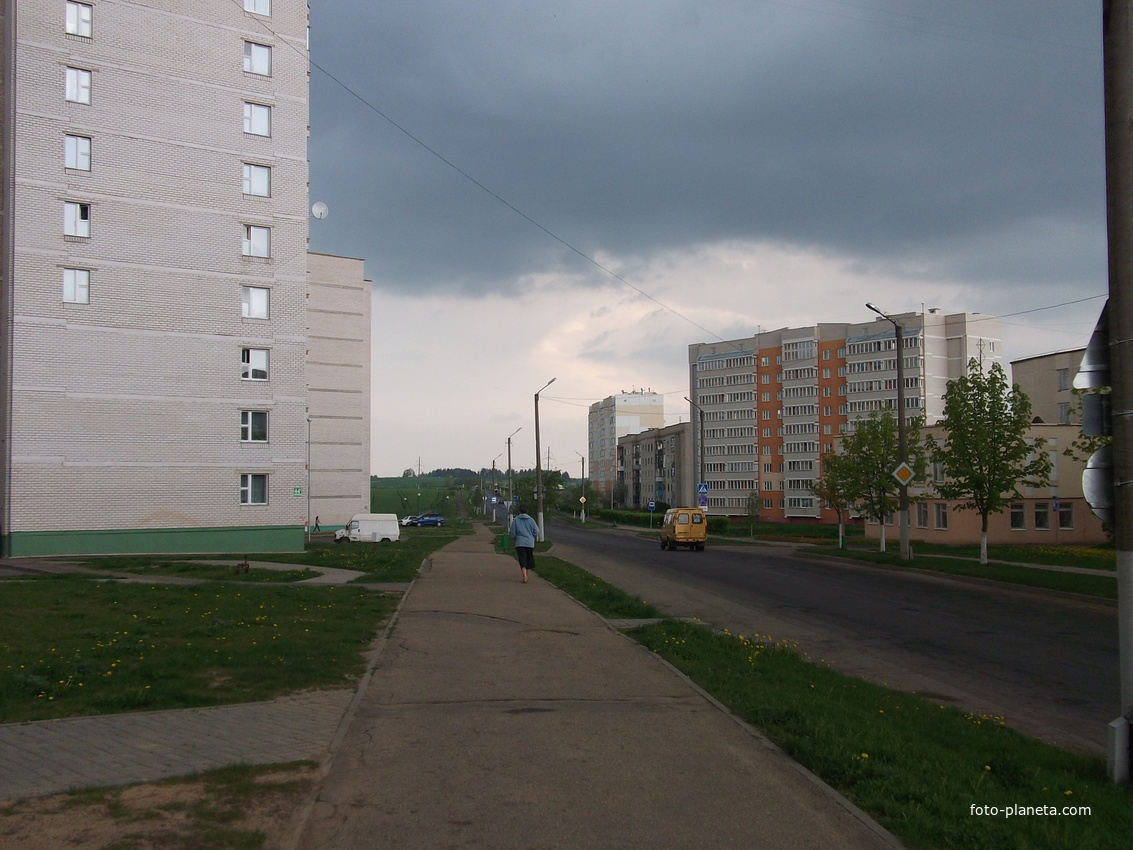 Оршанская-выезд