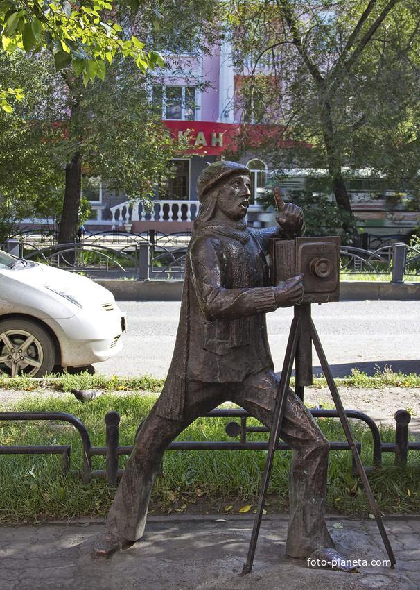 "Скульптура ""Фотограф"""