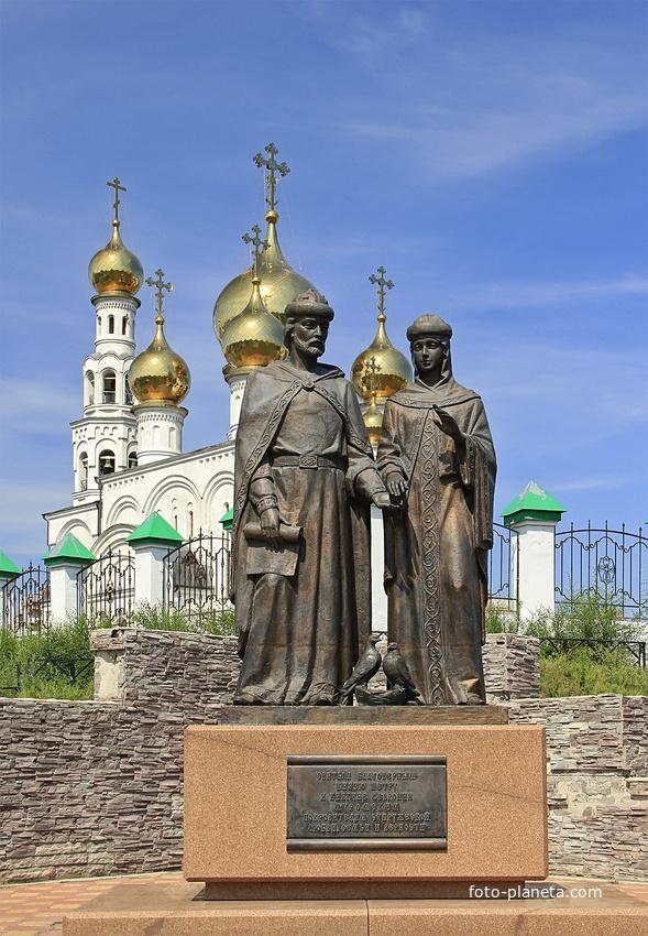 Святым благоверным князю Петру и княгине Февронии Муромским, покровителям супружеской любви, семьи и верности