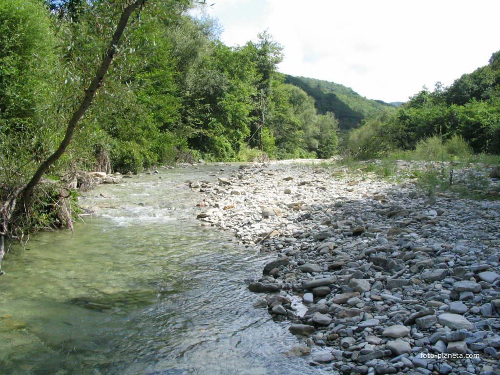 Ольгинка вверх по реке 2004