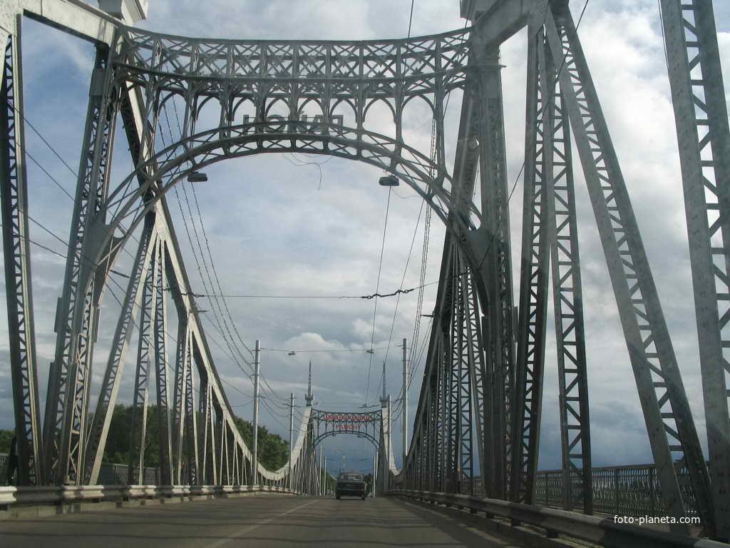 Тверь мост через Волгу 2007