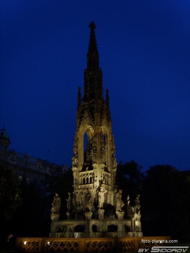 Холерный фонтан в Праге