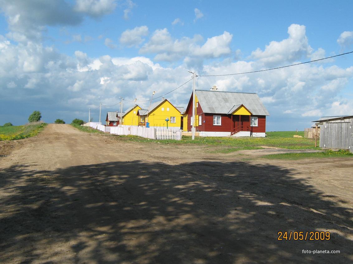 Новые дома на ул. Морозовской.