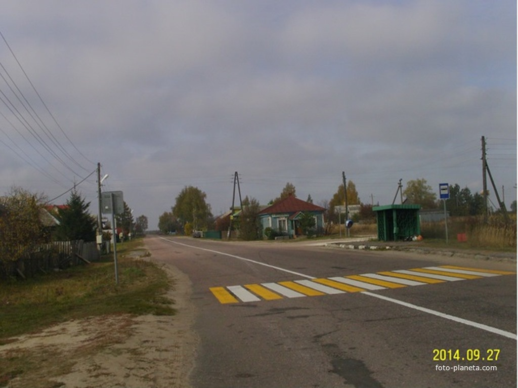 В деревне Шеино