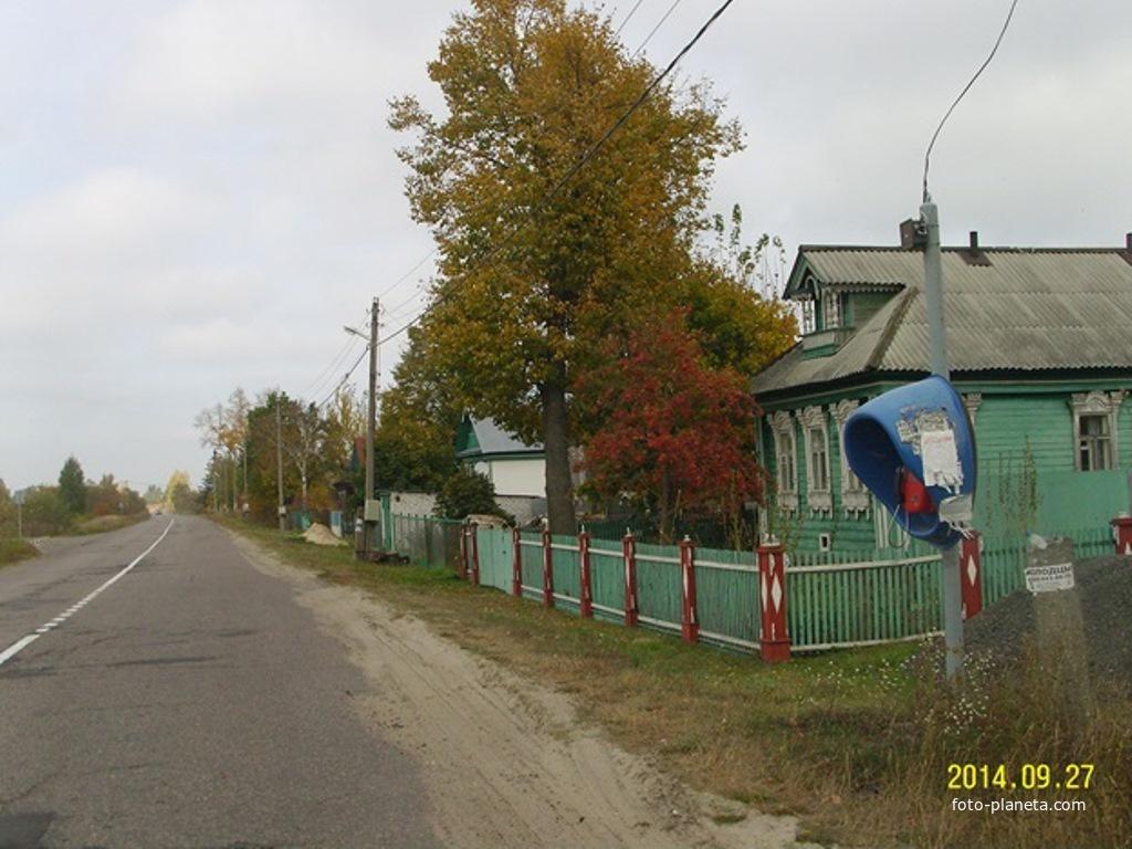 В деревне Якушевичи