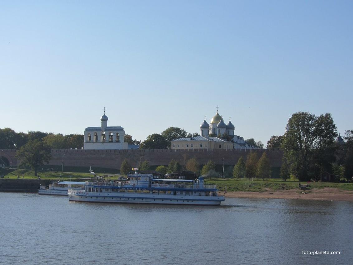 на реке Волхов