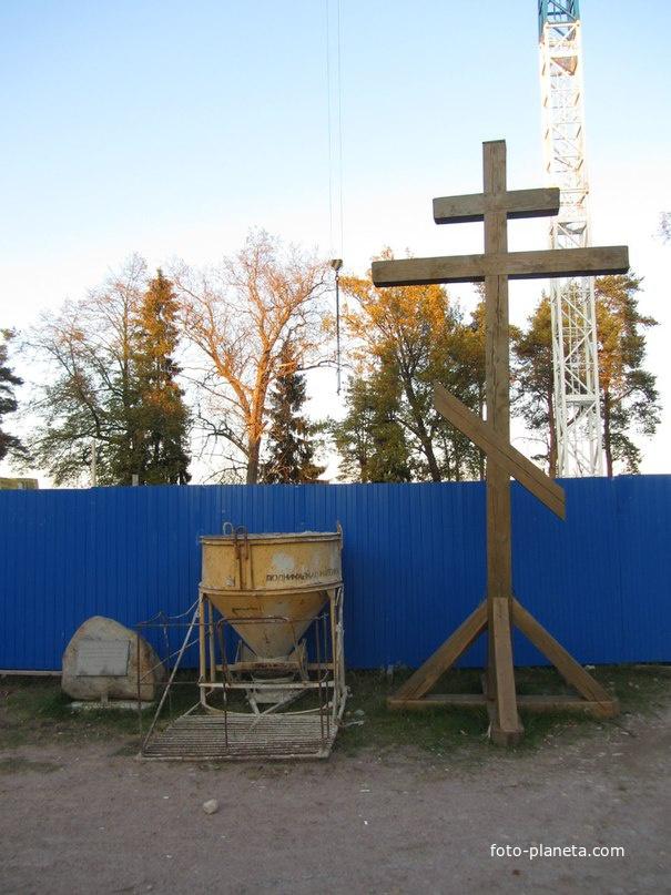 Здесь будет церковь