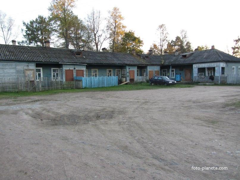 Старые дома барачного типа