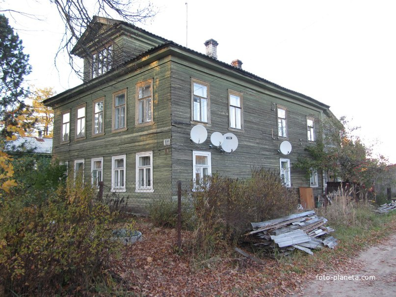 Дом Милосердия, принадлежащий храму Рождества Христова. другой ракурс
