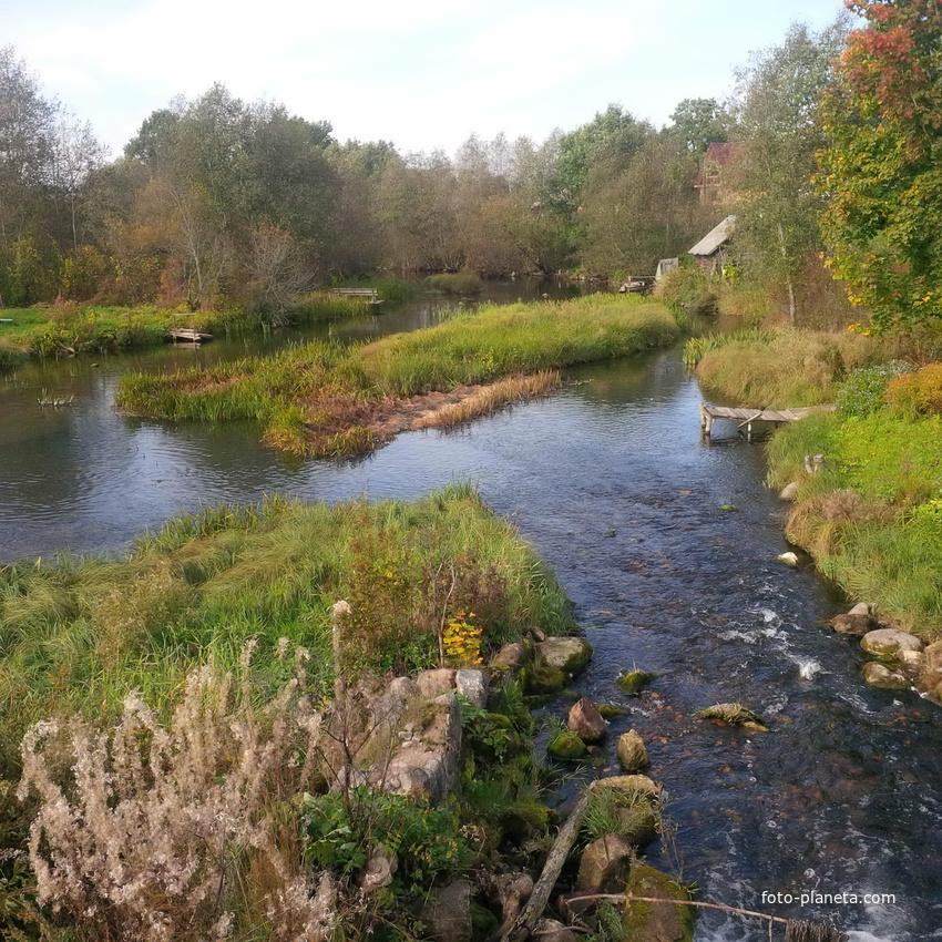 Недоблицы река Хревица