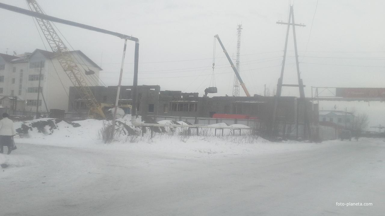Строительство нового дома по улице Прокопьева