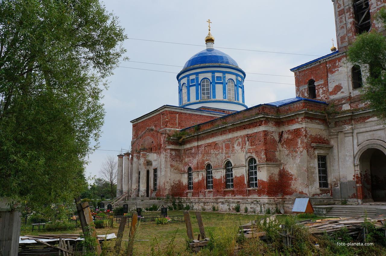 Дединово, Казанская церковь