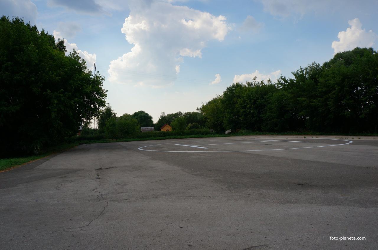 Дединово, вертолётная площадка
