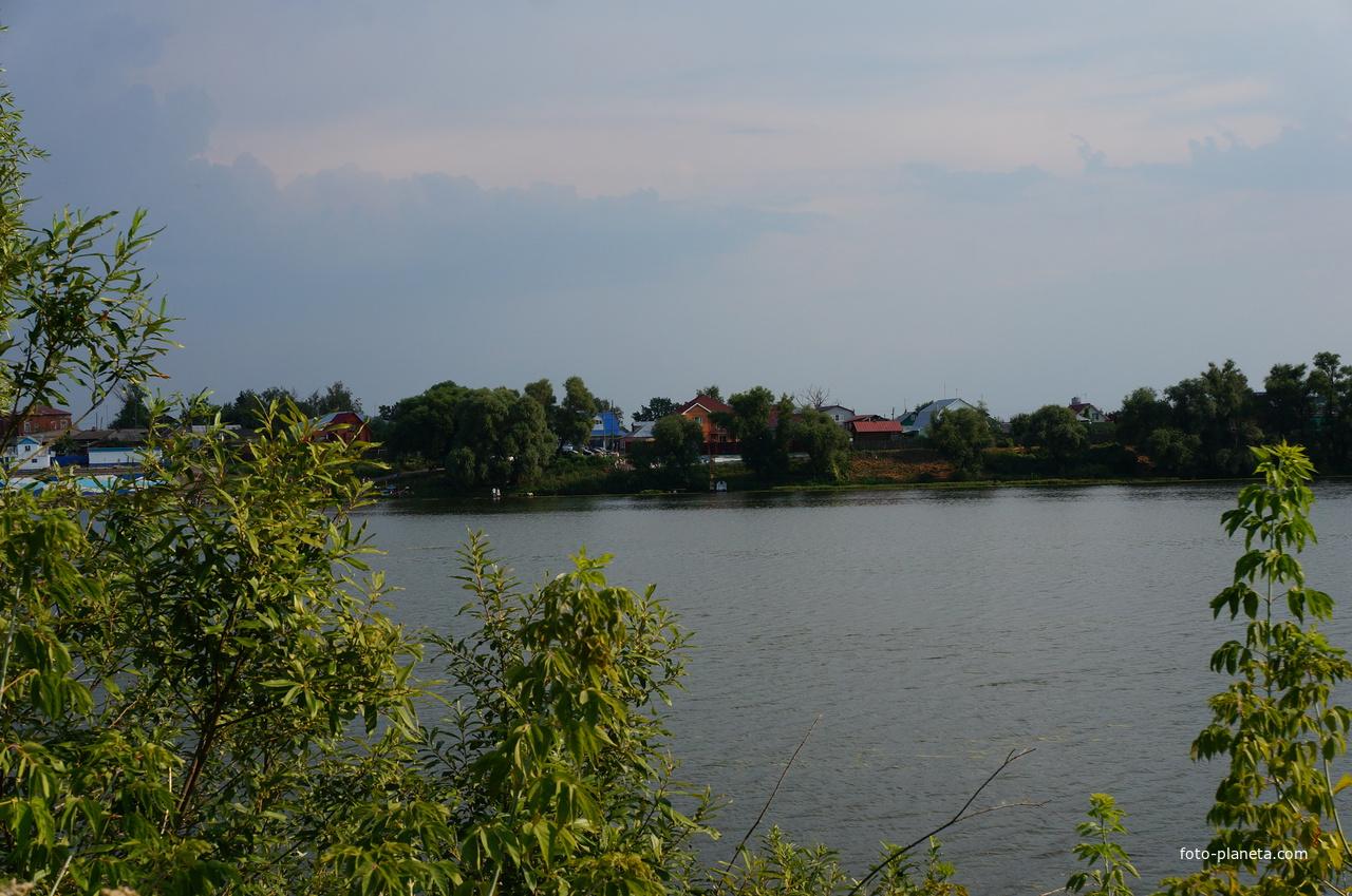рыбалка на оке в луховицком районе дединово