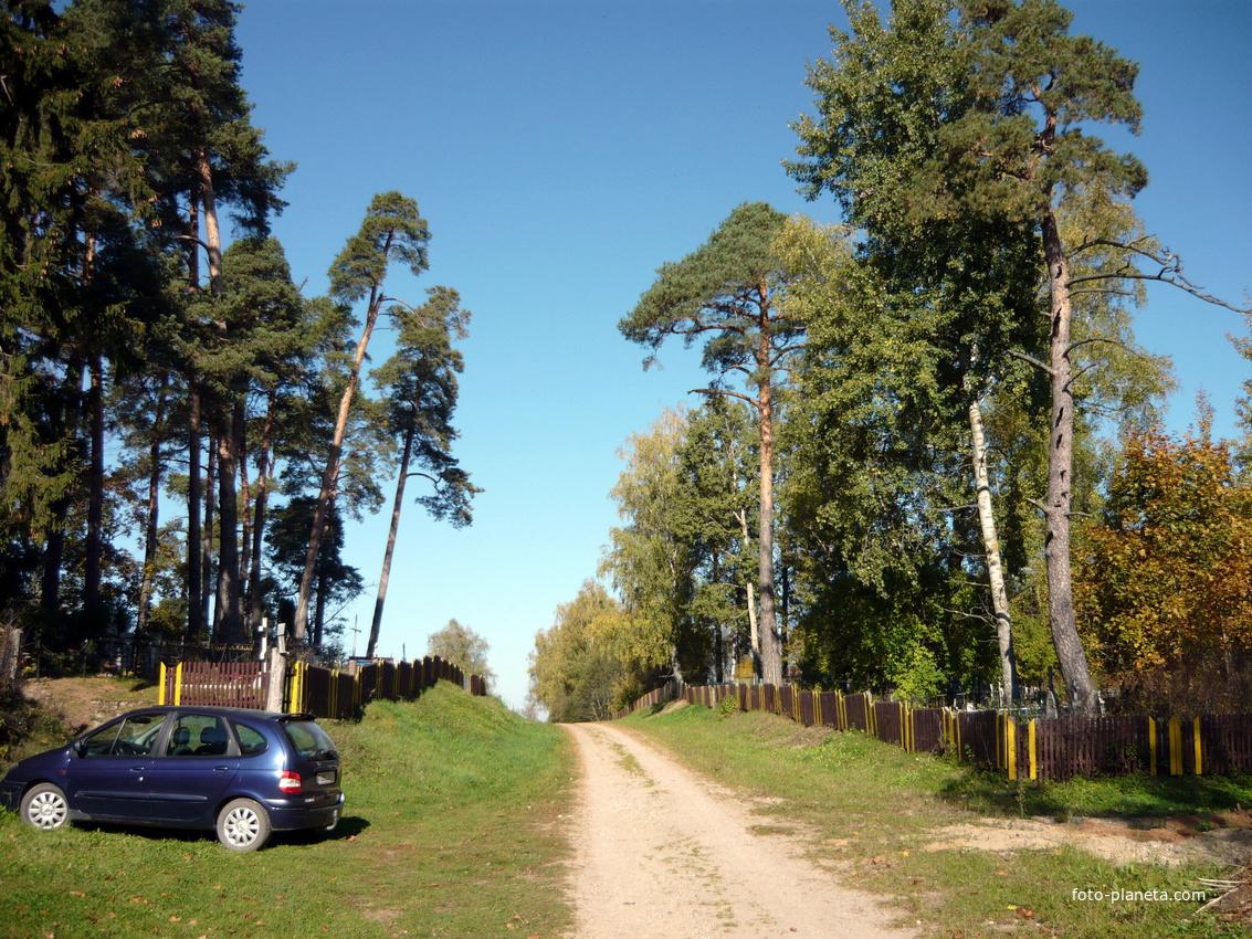 поселковое кладбище | Новый Погост (Миорский район)
