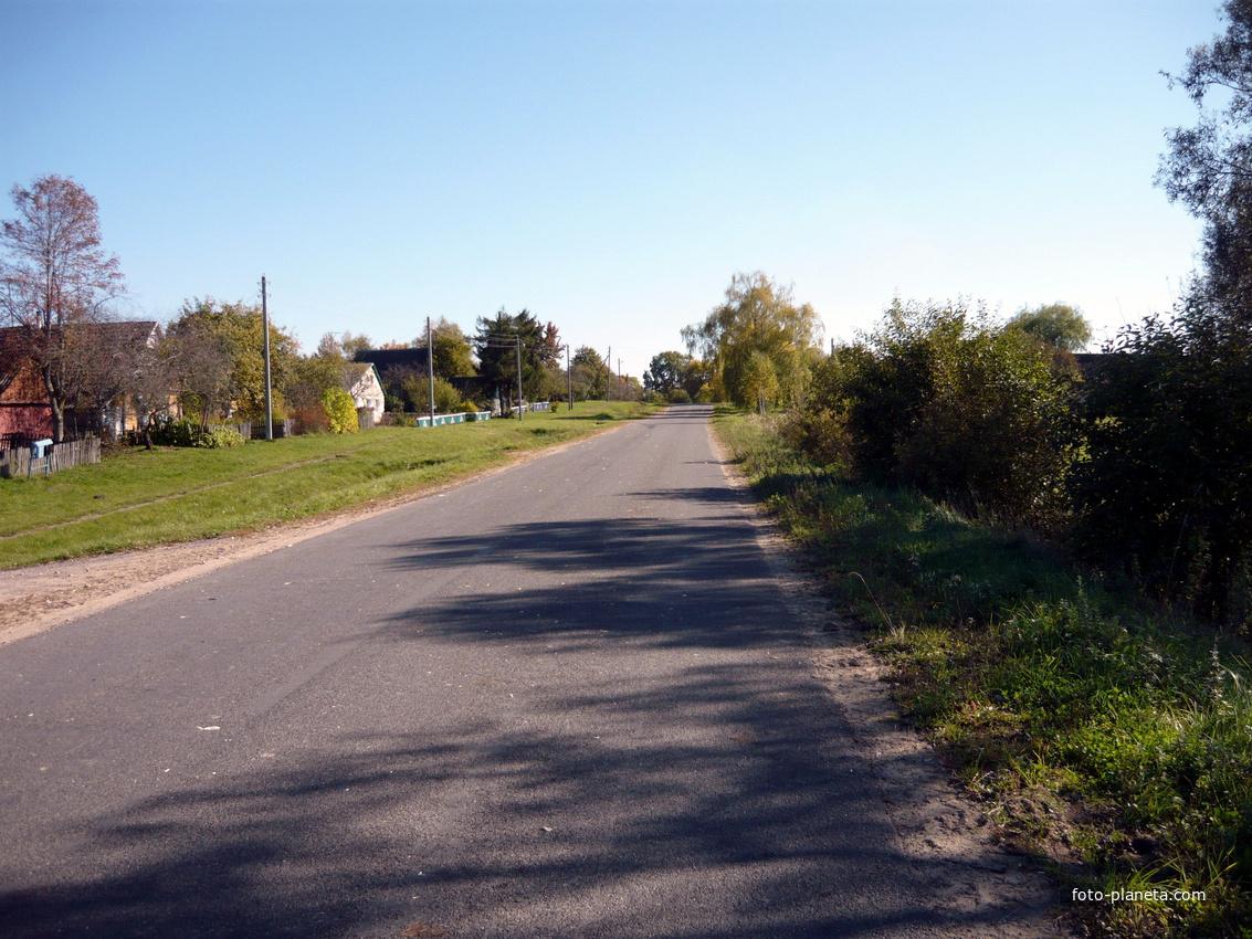 окраина поселка | Новый Погост (Миорский район)