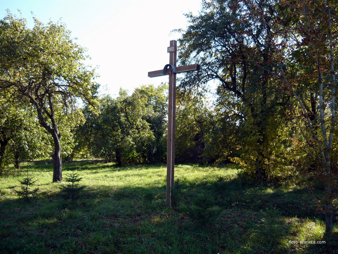 поклонный крест | Новый Погост (Миорский район)