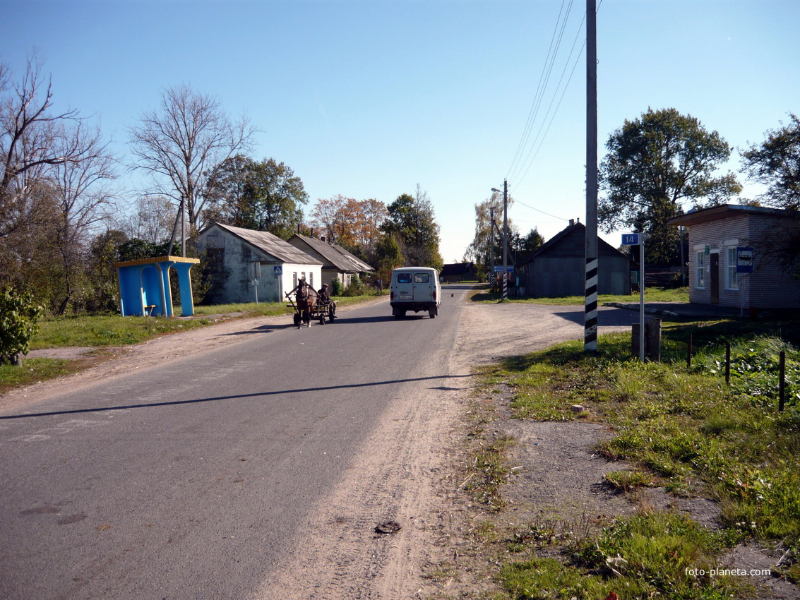 улица поселка | Новый Погост (Миорский район)