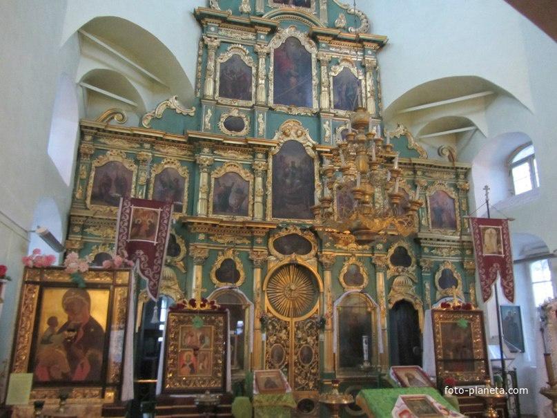 Опоки. Церковь Благовещения Пресвятой Богородицы.