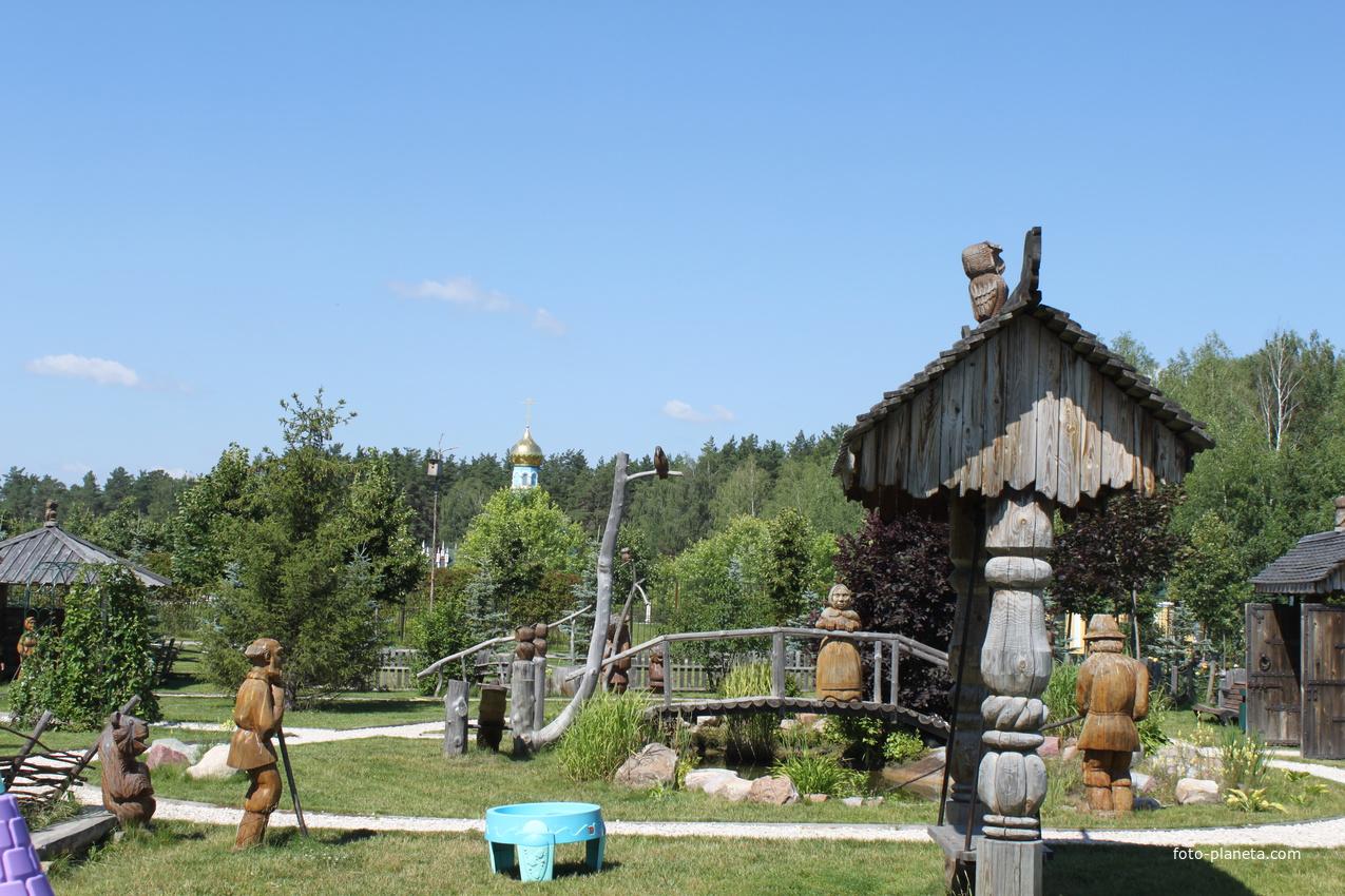 Ушмор. Музей деревянного зодчества