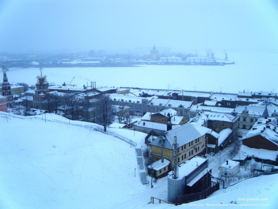 Нижний Новгород. Панорама на собор Пресвятой Богородицы