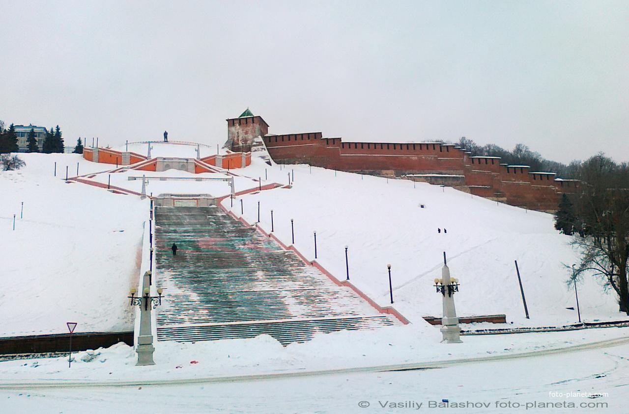 Нижний Новгород. Чкаловская лестница
