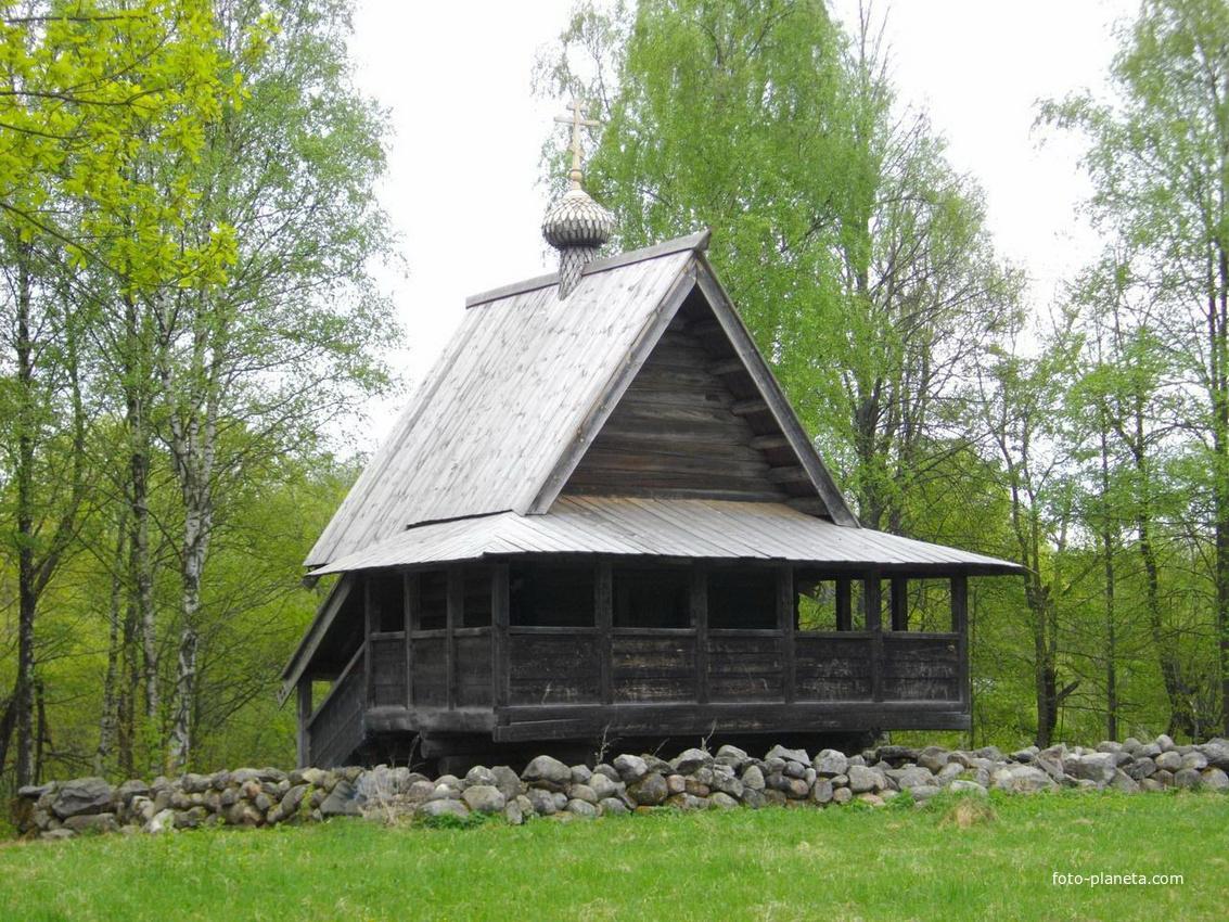 Новгород. Музей деревянного зодчества Витославлицы