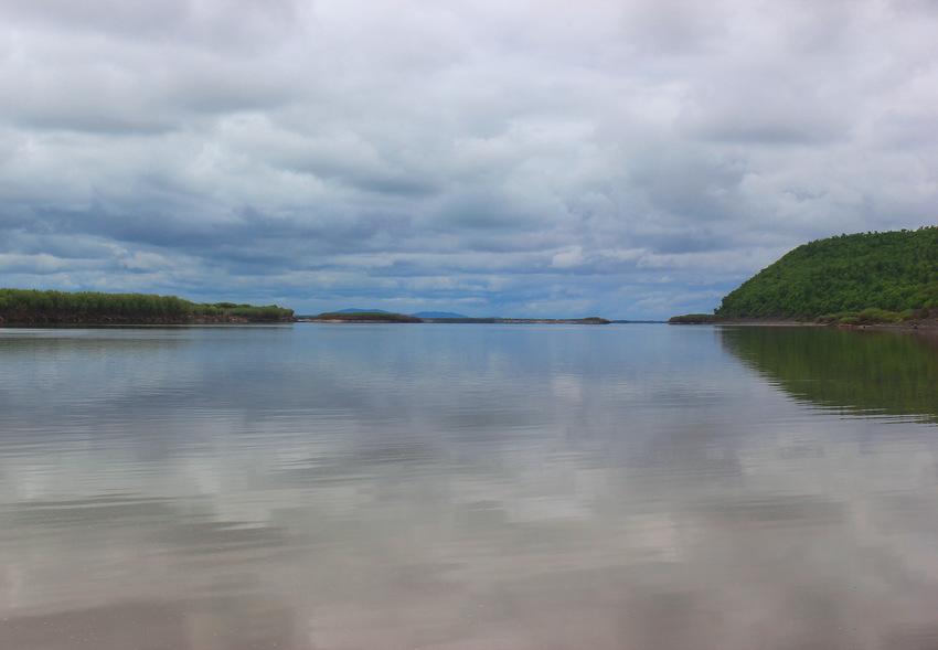 Амур. Протока Сандинка